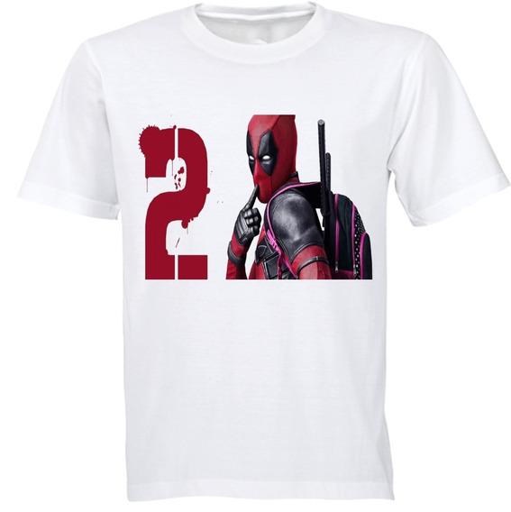 Playera Deadpool Diseños Marvel Superheroes Algodon 4 Beloma