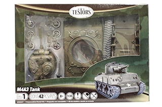Testors Classic M4a3 Tank Model Kit (escala 1:35)