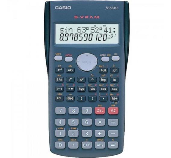 Calculadora Científica Casio Fx-82ms Preta Com 240 Funções