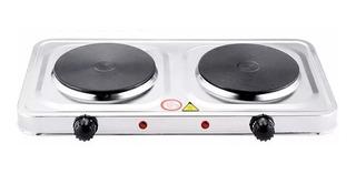 Cocina Electrica Doble Plato Cocinilla Portatil Ml03245
