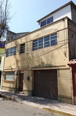 Casa Adaptada - Bodega Y Oficinas Super Ubicada Col Guerrero
