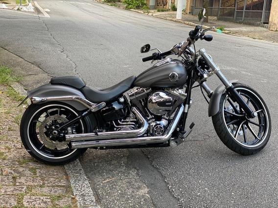Harley Davidson Softail Breakout Vários Acessórios Originais