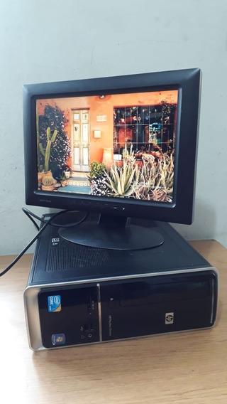 Cpu Pc Completo Hp Core I3 3.20ghz Memoria Ram 4gb Hd 500gb