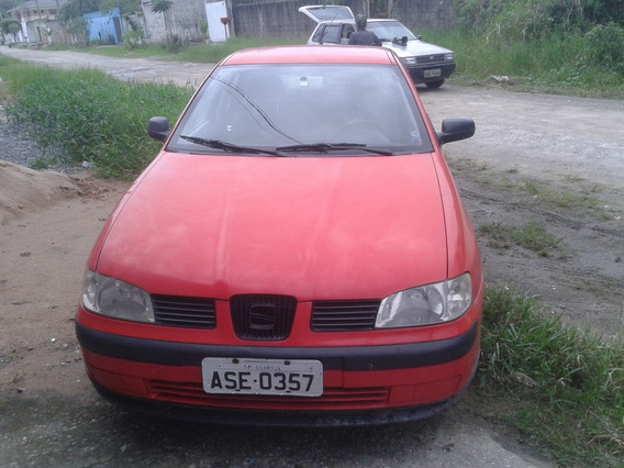 Seat Ibiza 2002 (mecanica Wolks) Valor R 4.000,00