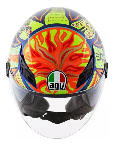 Capacete Agv Blade Five Continents Valentino Rossi Original