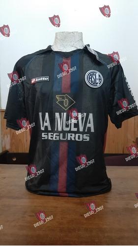 Camiseta San Lorenzo Lotto Negra 2012