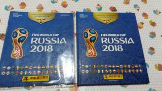 2 Álbuns De Figurinhas Copa Do Mundo Rússia