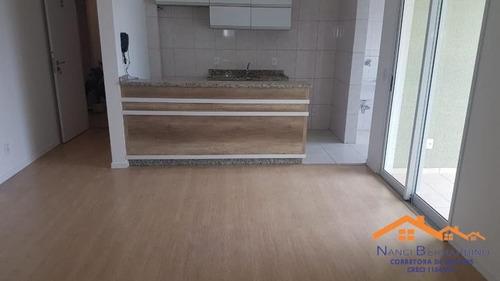 Imagem 1 de 14 de Apartamento  Mobiliado 2 Dormitórios No Centro De Arujá - 19828
