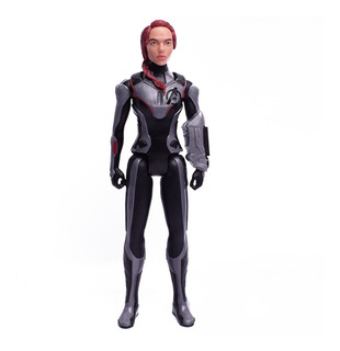 Avengers Muñeco Titan Hero Black Widow 30 Cm Original Hasbro