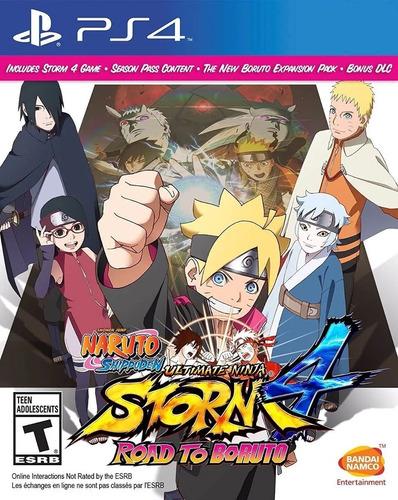 Imagen 1 de 8 de Naruto Ultimate Ninja 4 Road To Boruto 4 Ps4 Juego Sellado