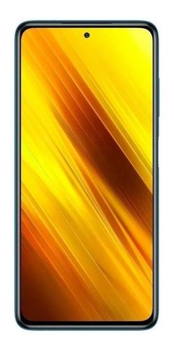 Imagen 1 de 7 de Xiaomi Pocophone Poco X3 Dual SIM 128 GB out of the blue 6 GB RAM