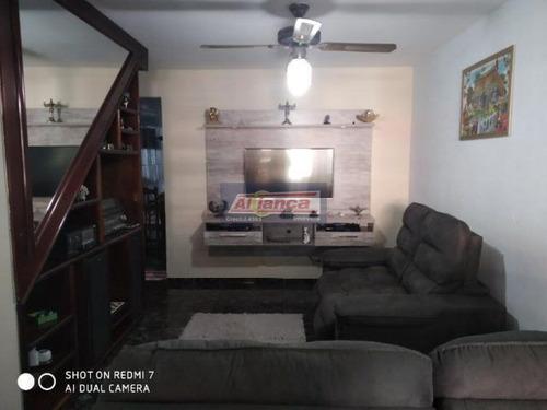 Sobrado Com 2 Dormitórios À Venda, 126 M² - Residencial Parque Cumbica - Guarulhos/sp - Ai17696