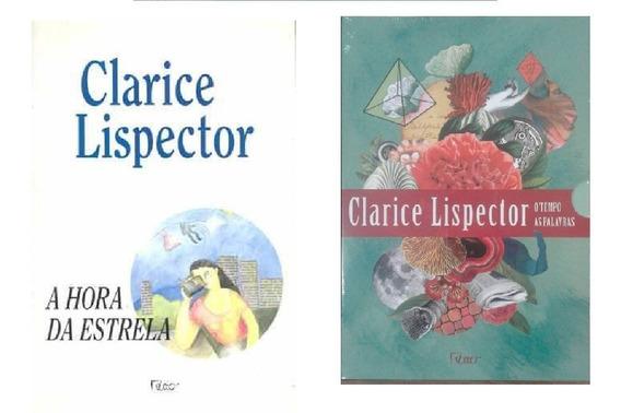 Clarice Lispector Box O Tempo As Palavras + Hora Da Estrela