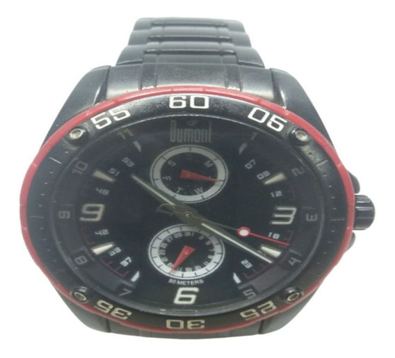 Relógio Dumont Masculino Esportivo Preto Sz60264v