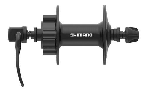 Imagem 1 de 2 de Cubo Dianteiro Shimano Tourney Tx506 36f Rotor 6  Parafusos