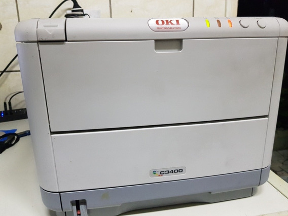 Impressora Laser Color C3400n - Funcionando Retire Itapevi
