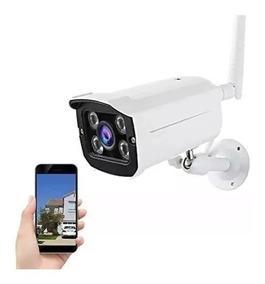 Camera Ip Externa A Prova D Agua Wifi Visao Noturna Hd Ip65