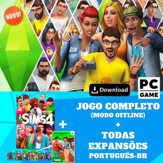The Sims 4 Pc + Todas Expansões 2020 - Português-br Digital