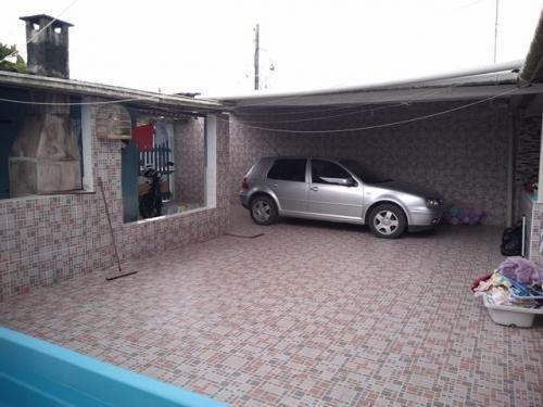 Casa Com Edícula - No Palmeiras 2 - Itanhaém /sp -7471 Kym