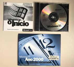 Cd Windows 98 / Windows 98 O Início / Microsoft Ano 2000