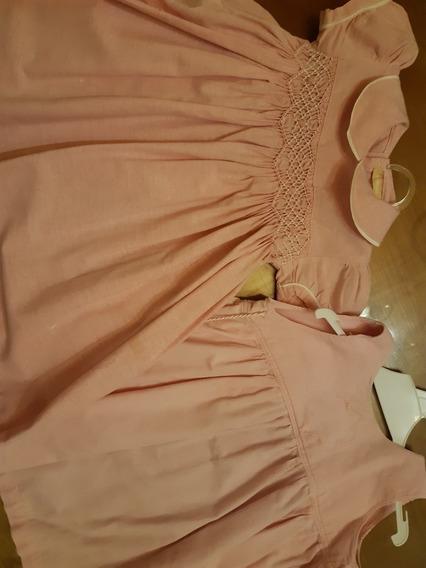 Vestido Nena Un Año O Dos Yamp Con Yumper De Regalo