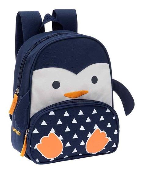 Mochila Pinguim Pimpolho - Marinho - Un