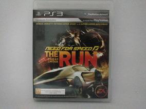 Jogo De Ps3 Need For Speed The Run Mídia Física