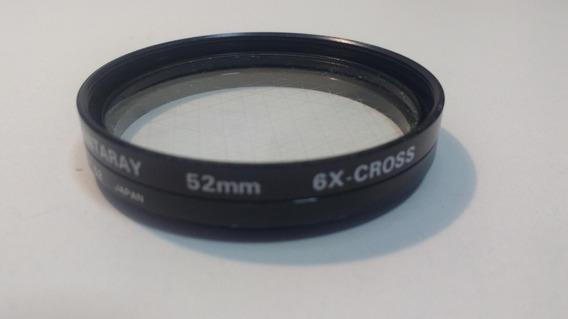 Lente Filtro 52mm - 6x-cross - Seminova