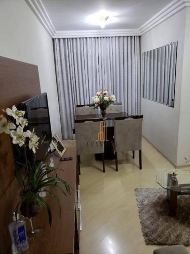Imagem 1 de 16 de Apartamento Com 3 Dormitórios À Venda, 68 M² Por R$ 330.000,00 - Rudge Ramos - São Bernardo Do Campo/sp - Ap2055