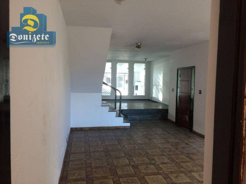 Sobrado À Venda, 354 M² Por R$ 869.000,01 - Vila Leopoldina - Santo André/sp - So1723