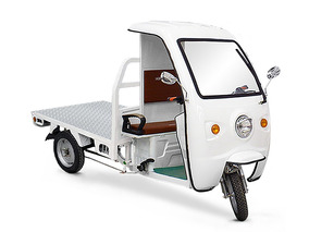 Motocarro Electrico 100%, Yonsland Plancha Con Cabina Ya8