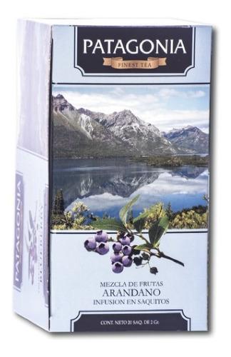 Imagen 1 de 2 de Te Patagonia Premium X 20 Saq. Arándano