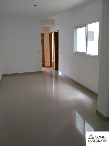 Apartamento Para A Venda No Bairro Jardim Bela Vista Em Santo André - Sp . - Ap01270 - 69365179