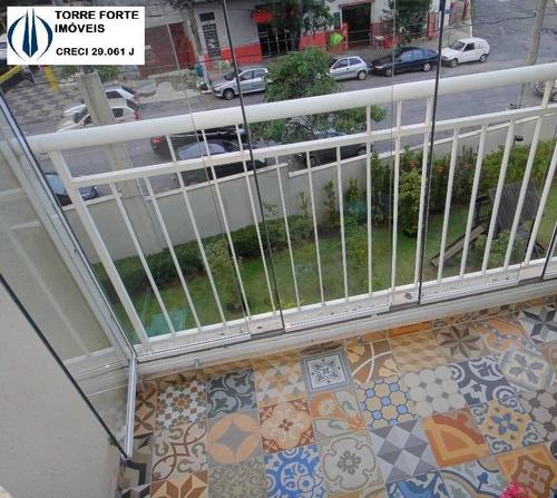 Lindo Apartamento Com  2 Dormitórios E 1 Vaga Na Vila Prudente - 1546