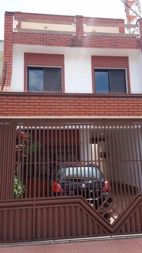 Sobrado Residencial À Venda, Alto Da Mooca, São Paulo - So5201. - So5201