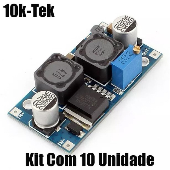 10x Regulador Tensão Dcdc Step Up Booster Xl6009 4amp