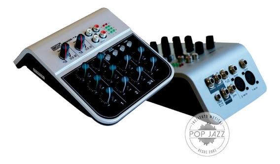 Audio Mixer Mesa De Som Boxx Mix 02 1a - Frete Grátis