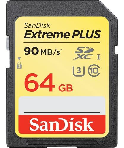 Sandisk Extreme Plus Sdhc Sdxc Uhs-i 64gb Tarjeta De Memoria