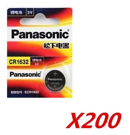 Bateria Cr1632 Panasonic. 1 Cartela Com 5 Baterias.