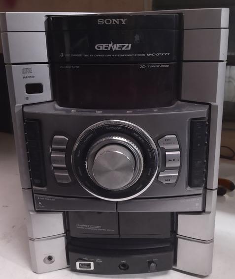 System Sony Hcd - Gtx77, Vendo Partes ( Placa Lateral )