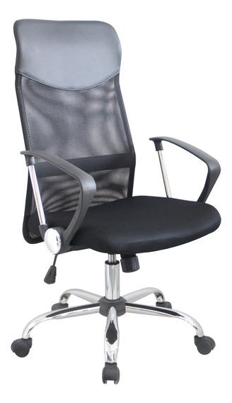 Cadeira Escritório Presidente Giratório Em Tela - Fury