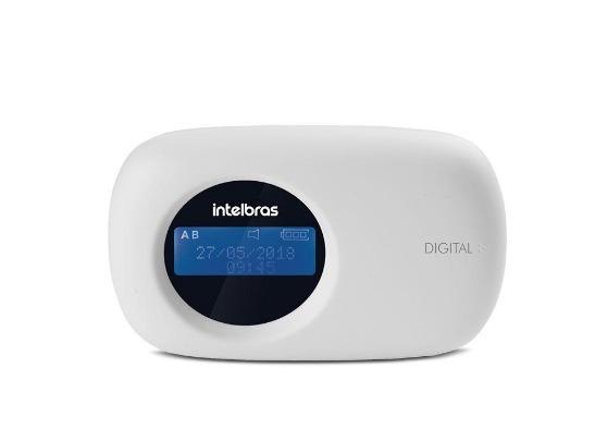 Teclado Xat 4000 Lcd Para Centrais De Alarme Intelbras