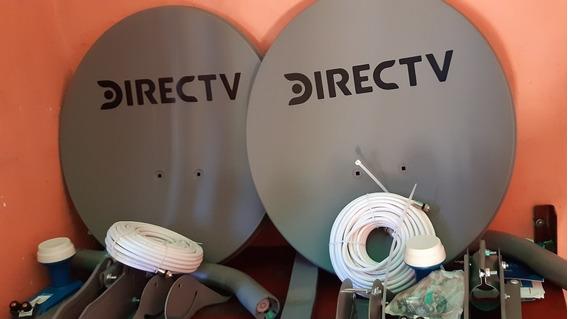 Antena Directv Nueva Completa Con Cable