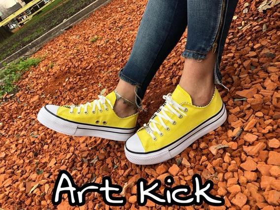 Zapatilla Mujer Urbanas Varios Colores Art Kick