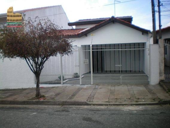 Casa Com 3 Dormitórios Para Alugar, 190 M² Por R$ 1.600/mês - Jardim São Paulo - Sorocaba/sp - Ca0256