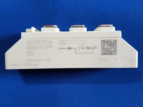 Módulo Tiristor Semikron Skkh 107/16e