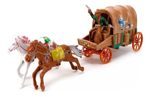 Set Lejano Oeste Western Diligencia Cowboy Accesorios