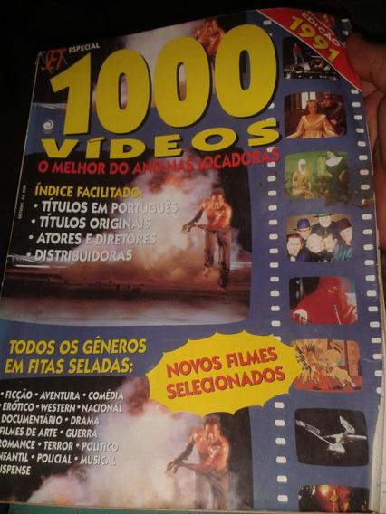 Revista Set Guia Especial 1991 - 1000 Vídeos