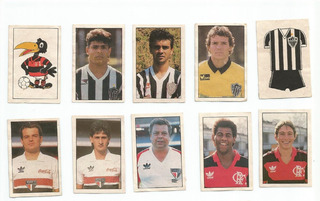 Lote De Figurinhas Álbuns Copa União 88 E Brasileiro 89