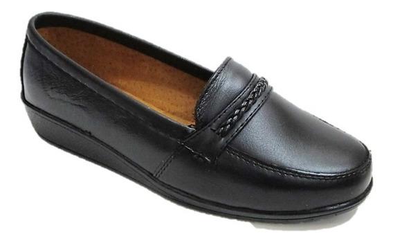 Zapatos De Descanso Mujer Florenza Piel Cómodos 6000